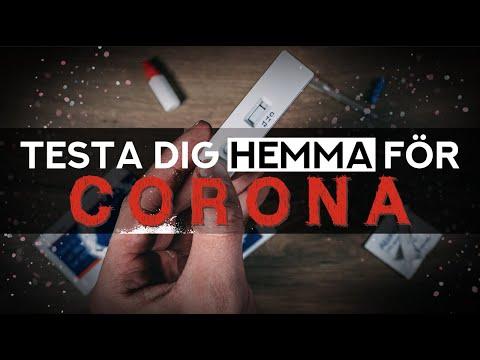 Hemmatest för CORONA! (OBS! Läs beskrivningen!)