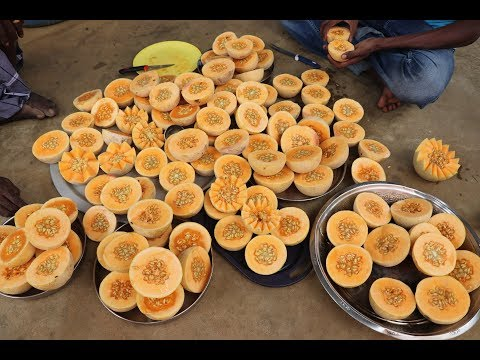 MUSKMELON with Ice cream JUICE / DADDY / Village food factory