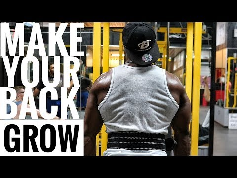 Back Workout For MASS, WIDTH & STRENGTH!!!!