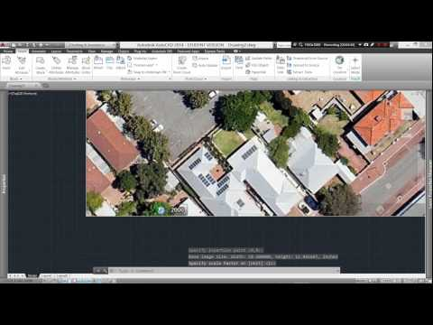 Video Tutorial 010 Autocad Scale Google Earth for Site Plan