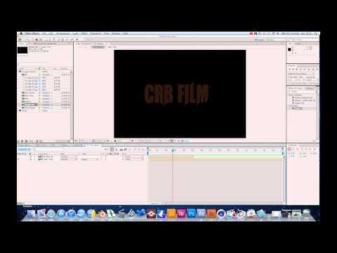 Adobe After Effects CS5 Procedural Title Shatter Tutorial