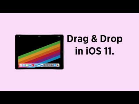iOS 11 Tip: Drag and Drop on iPad