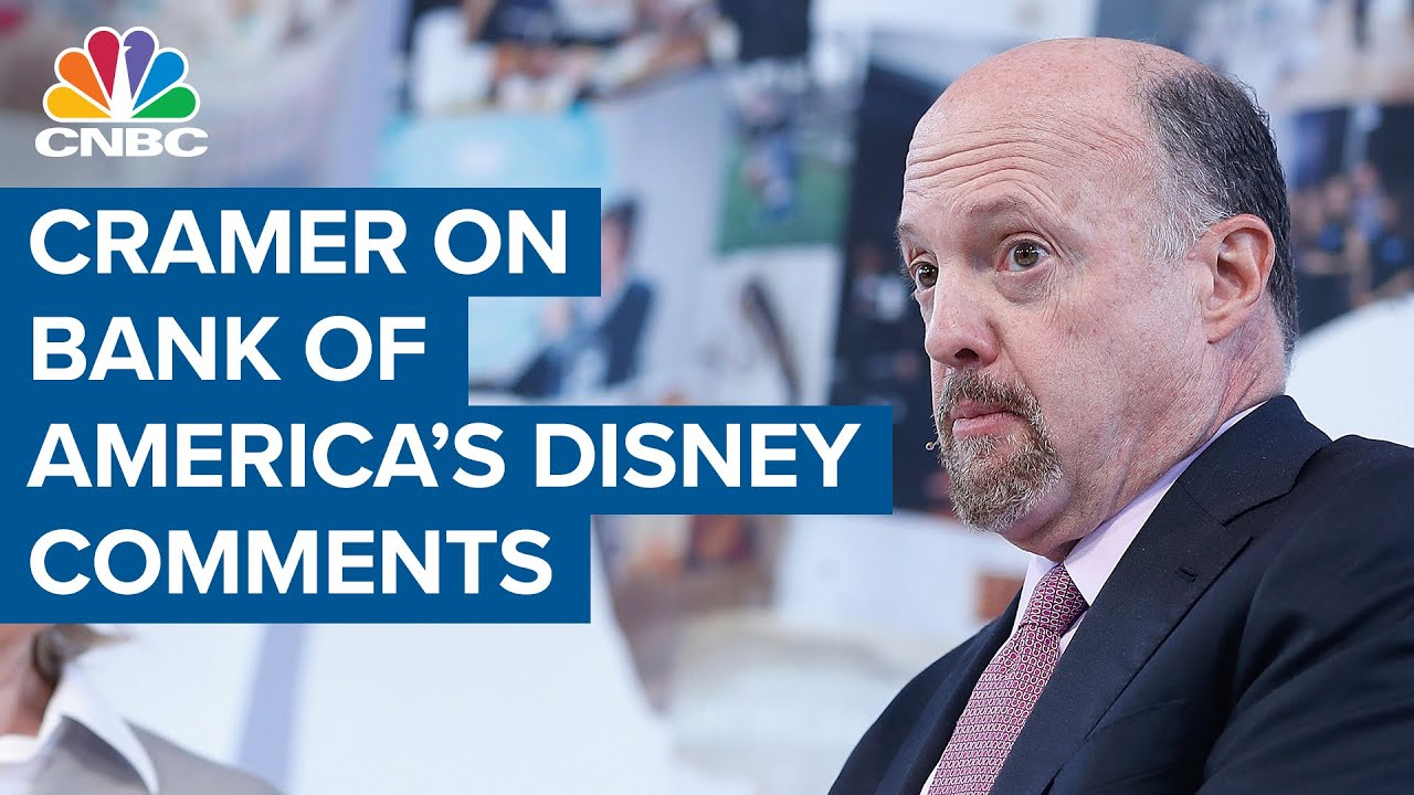 Jim Cramer on Bank of America naming Disney as a favorite reopening stock