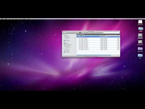 Mac OS X: Basics - The File Menu in Finder