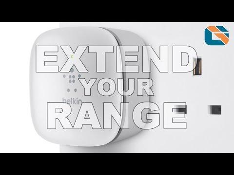 Belkin N300 Wi-Fi Range Extender F9K1015 Unboxing & Review