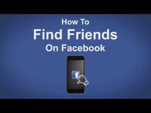 How to Find Friends On Facebook - Facebook Tip #12