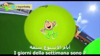 I giorni della settimana! Arabo Italiano
