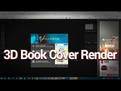 How to Make a 3D Paperback Book Cover Render Using Only Free Online Tools | JUST THE TIP