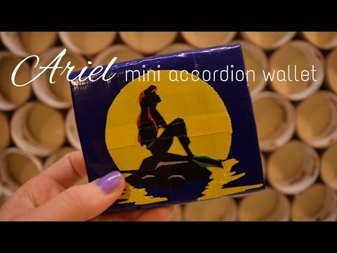 Ariel Duct Tape Wallet ; Craft Spotlight 3