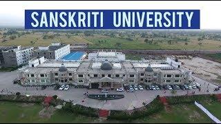 Sanskriti University   For Excellence in Life!