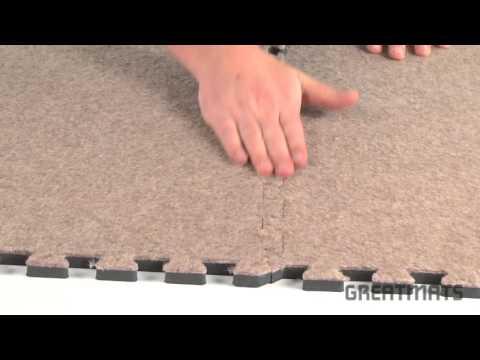 Basement Carpeting - Royal Interlocking Carpet Tiles