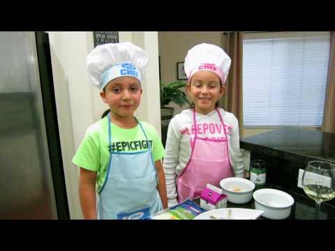 MasterChef Kids (Episode 1) Shrimp Fettuccine Alfredo Cupcakes