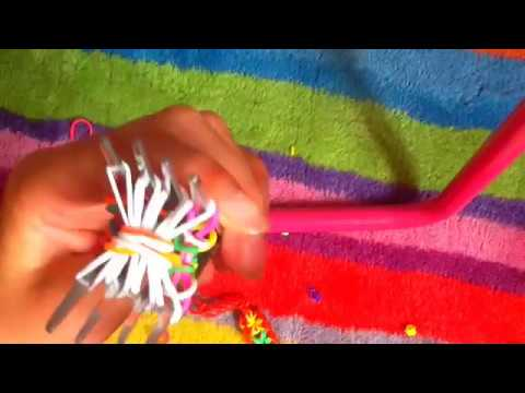 How to make starburst on TWO FORKS no loom!!