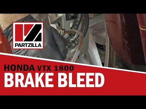 How to Bleed the Brakes on a Honda VTX 1800 | Partzilla.com