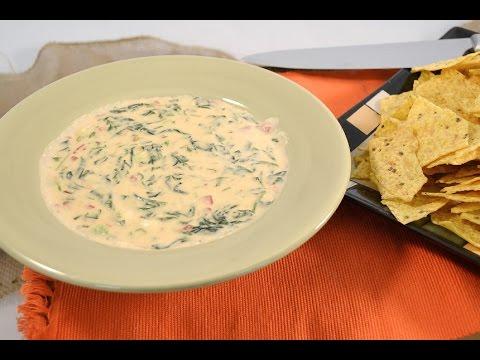 Spinach Queso Blanco Dip | RadaCutlery.com