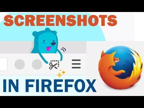 How to Take Screenshots in Mozilla Firefox
