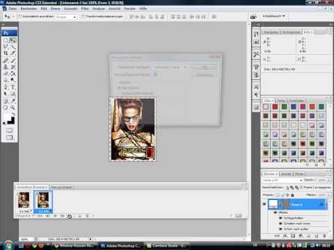 Make A New Gold Rihanna Avatar - In Photoshop Cs3 or Cs4