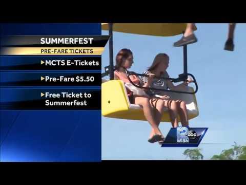 Buy bus passes online, get free Summerfest ticket