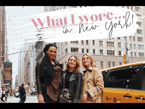 What I Wore + Did in New York! // KATE LA VIE