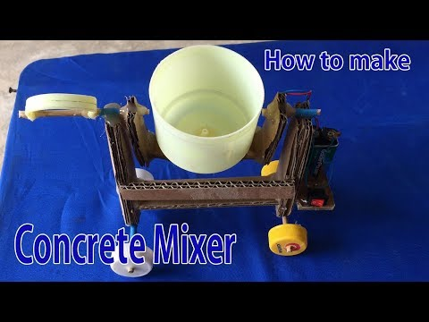 Wow!! Awesome DIY Ideas, How to Make Concrete Mixer Machine at Home