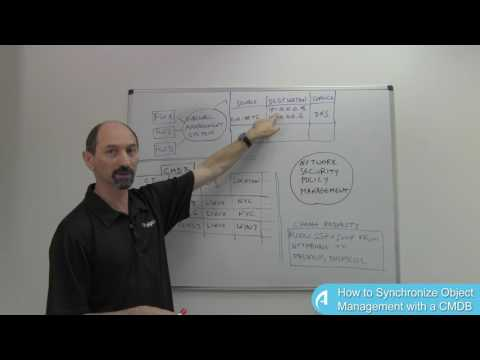 Lesson 15: How to Synchronize Object Management with a CMDB