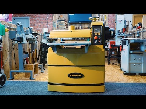 Powermatic PM2244 Drum Sander -  Product Overview