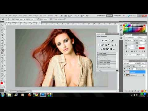 Changing Hair Color Photoshop CS5