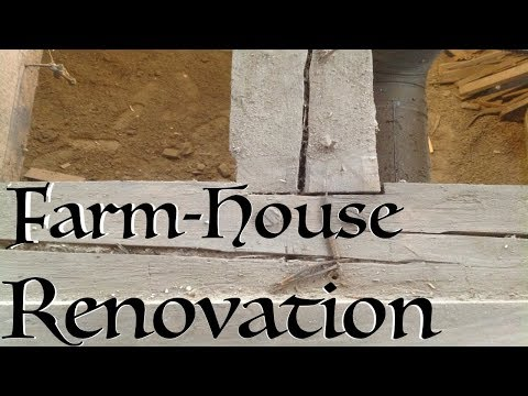 Farm House renovation - 210 year old Stone House.