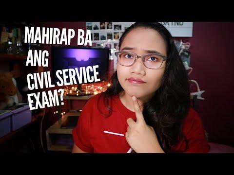 Mahirap ba ang Civil Service Exam?