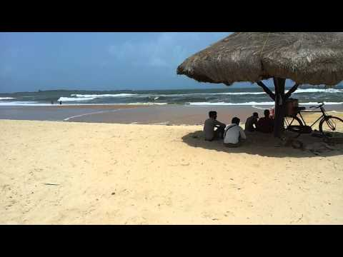 Beautiful Malpe Beach near Udupi, Karnataka