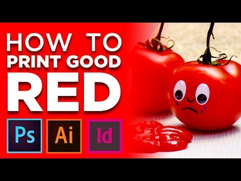 How to Print Good Red Color in CMYK Tutorial | Adobe Illustrator, Photoshop, or InDesign