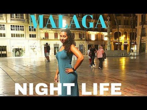 Malaga, Spain Nightlife