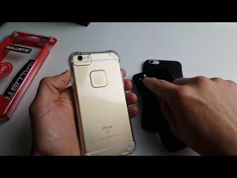 Ballistic Ultra Slim Clear Case- Fits iPhone 6/6s/7