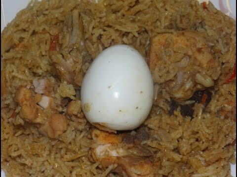 How to make Chicken biryani in tamil - chicken biryani without cooker !