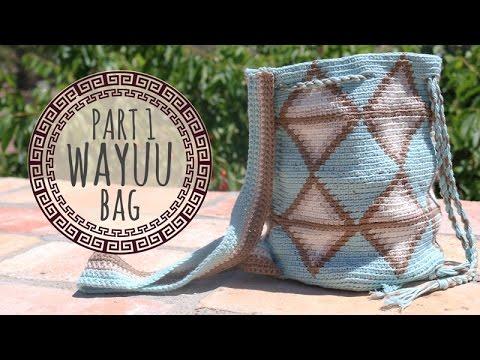 Tutorial Wayuu Bag Crochet - Part 1