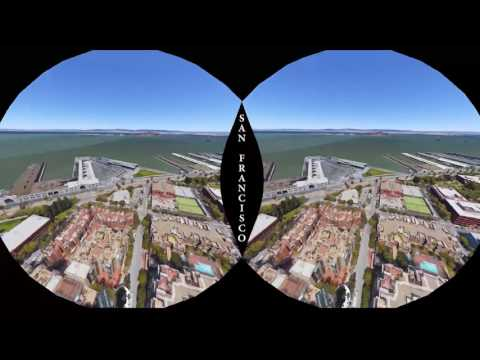 We fly through a strange mirror world in Google Earth VR
