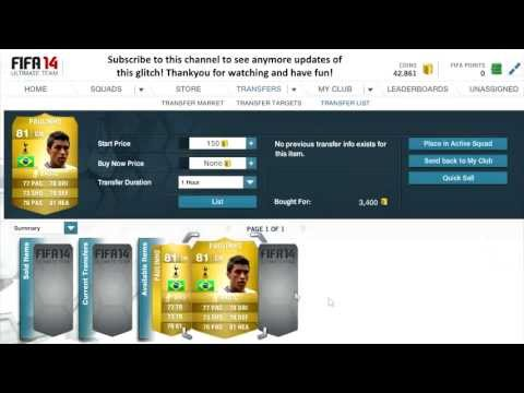 FIFA 14 Player Duplication Glitch - WORKING (XBOX + PS3 + PS4)