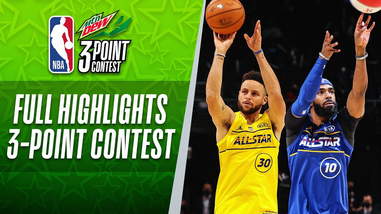 #MtnDew3PT Contest Full Highlights | 2021 #NBAAllStar