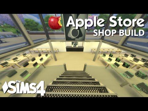 The Sims 4 Shop Build - Apple Store