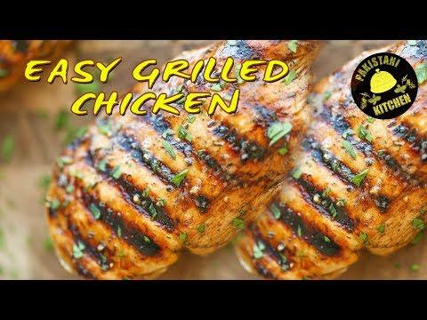 EASY GRILLED CHICKEN Recipe | Pakistani Kitchen