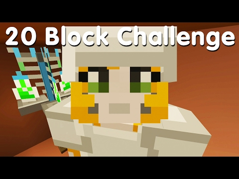 Minecraft PS4 - 20 Block Challenge - An Amazing Idea (23)