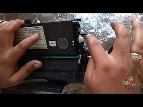 How to Refill Ricoh Printer Cartridge SP 110, 111, 200 210 Step By Step Refilling Tutorial in Hindi.