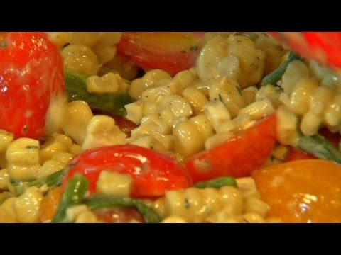 SWEET CORN AND TOMATOES | RECIPES TO LEARN | EASY RECIPES | STEP BY STEP RECIPES