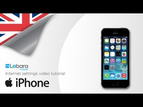 How to install Lebara Internet & MMS settings on your iPhone
