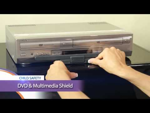 Child Safety Tip   Dreambaby DVD & Multimedia Shield