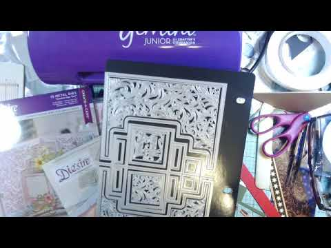 HSN craft day  Haul Crafter's Companion Center Pop-Out Card Bundle