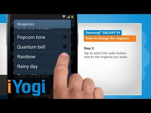 How to Set the Ringtone on Samsung® GALAXY S4