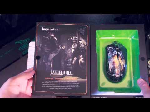 Razer Imperator Battlefield 3 Edition Unboxing