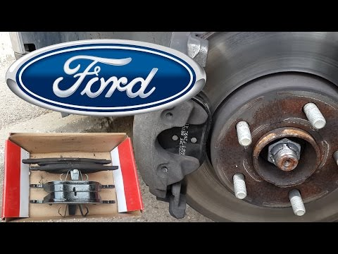 How to Replace Install Ford Focus Mk III Front Disc Brakes Pads