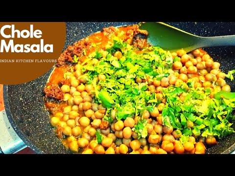Chole Masala Recipe | Pressure Cooker Chole | Easy Chana Masala | Chole Recipe | Chole with twist